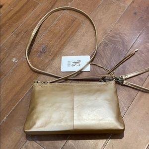 NWT genuine leather hobo Darcy cross body bag.